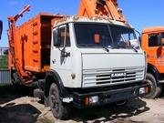Мусоровоз КО-427 на базе Камаз 53213