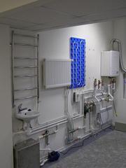 Производим монтаж газовых котлов,  систем отопления.
