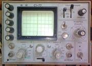 Осцилограф двухканальный С1-77